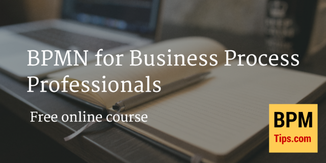 Free online course BPMN for Business Process Professionals