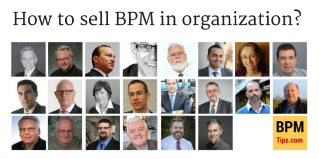 How to sell BPM in an organization