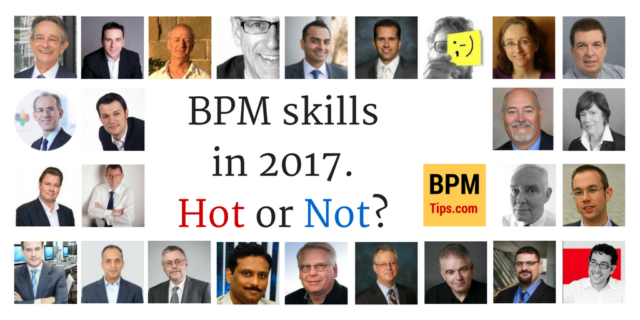 BPM Skills in 2017 – Hot or Not