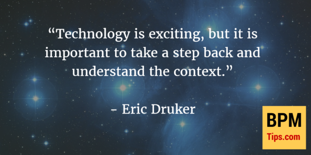 Interview with Eric Druker – Robotic Process Automation