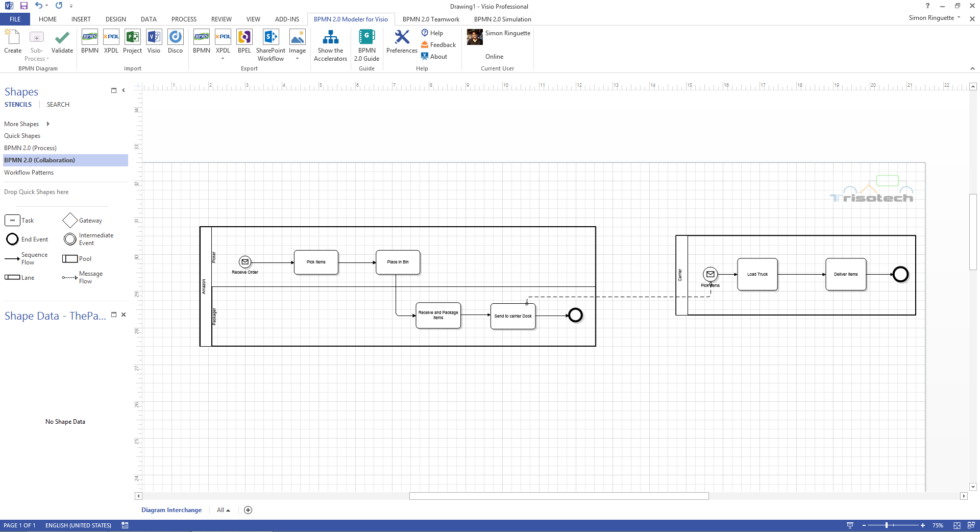 Overview of the bpmn miwg demo in berlin updated bpm tips part 3 4 trisotech screenshot pooptronica Image collections