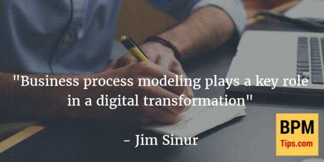 Interview with Jim Sinur – Modeling and the Digital Transformation