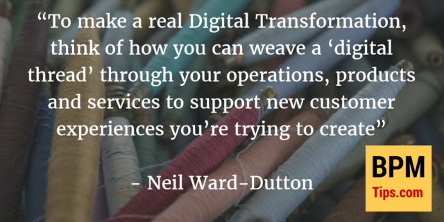 Interview with Neil Ward-Dutton – how to weave a digital thread through your operations, products and services