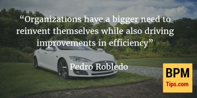 Interview with Pedro Robledo – important trends in BPM & linking it with Digital Transformation
