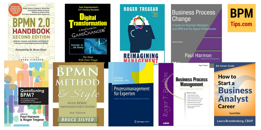 BPM books - reading list for 2017 | BPM tips