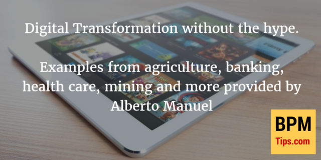 Interview with Alberto Manuel – BPM and Digital Transformation