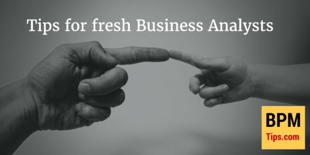 Tips for new Business Analysts