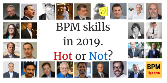 BPM Skills in 2019 – Hot or Not